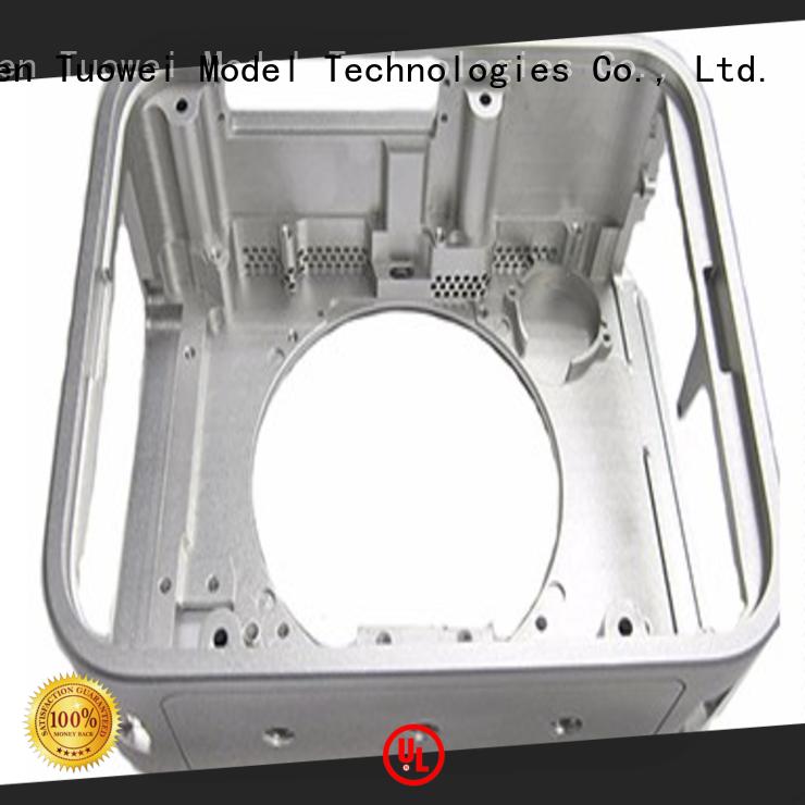 Tuowei rapid cnc aluminum prototype supplier