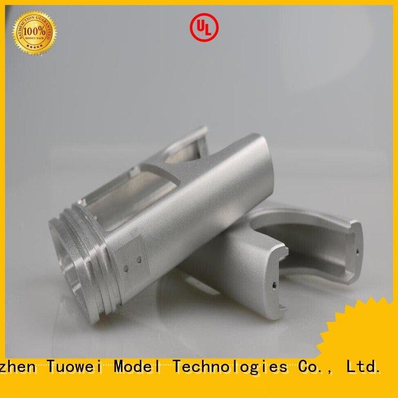 Tuowei medical prototype model cnc factory