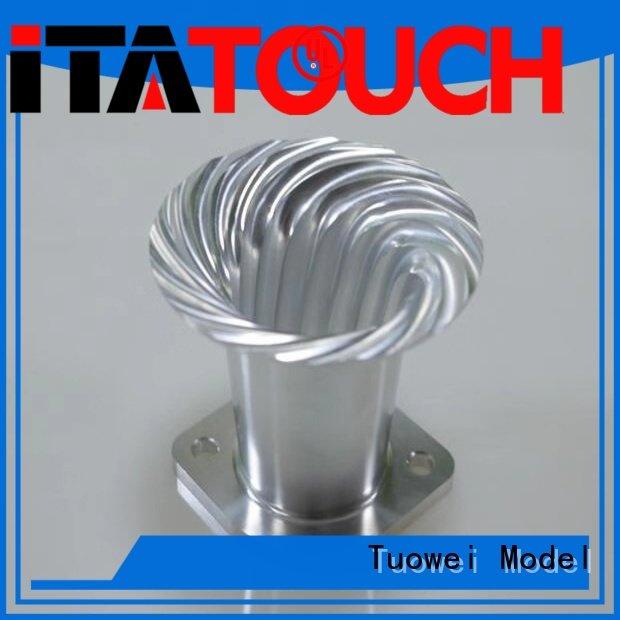 Tuowei housing cnc aluminum rapid prototype factory design
