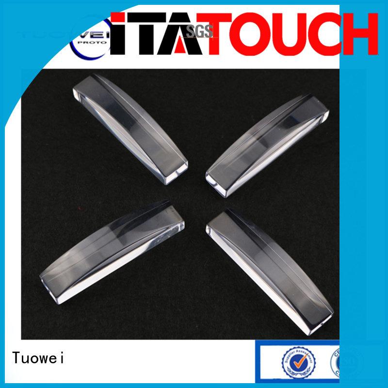 Tuowei pmma prototype plastic molding factory