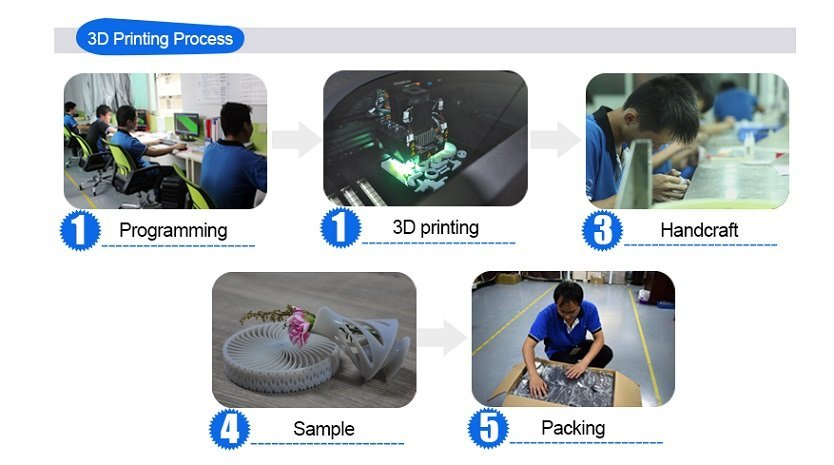 Tuowei rapid sla 3d printing service safe for metal