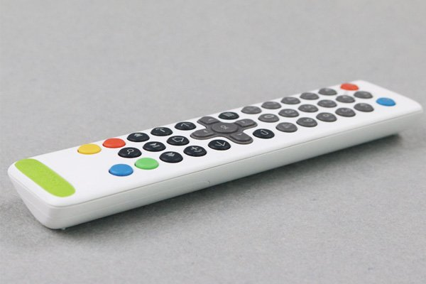 TV remote control prototype
