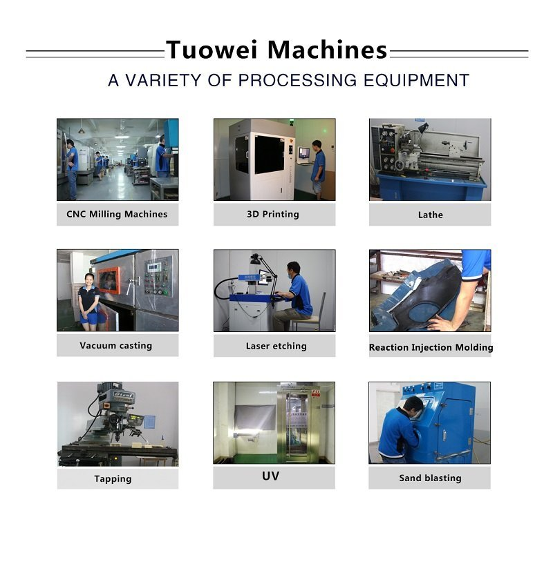 parts rapid prototyping with aluminum design for industry Tuowei