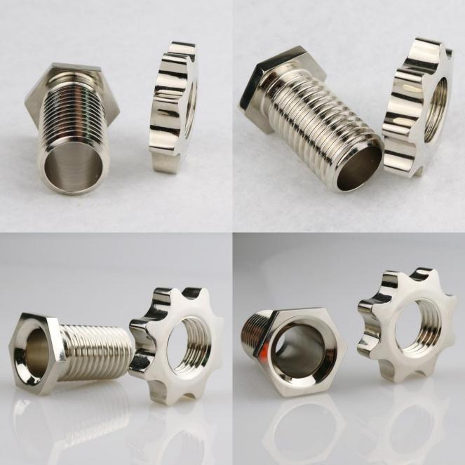 one precise aluminum components