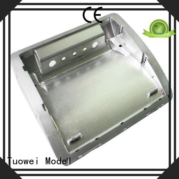 testing cnc prototyping aluminium service precision mockup