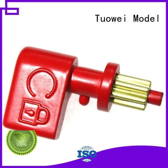 Tuowei machining rapid aluminum prototype supplier for metal