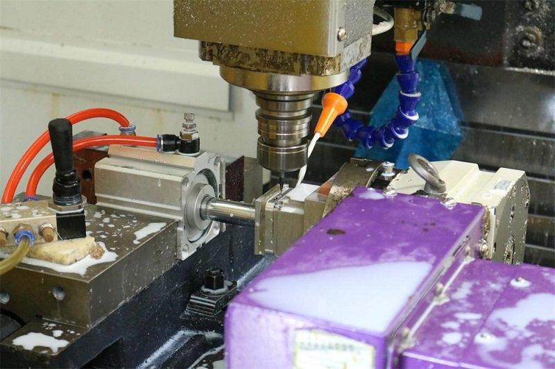 Tuowei testing cnc aluminum prototype protoype for plastic-2