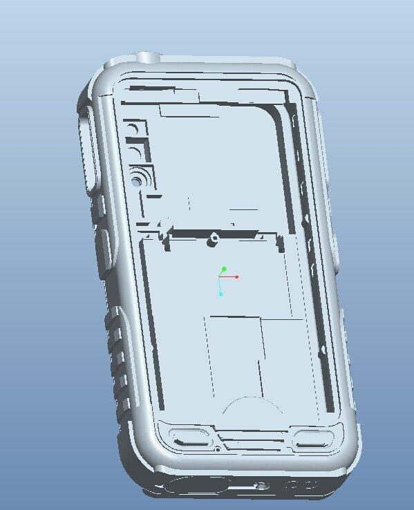 gamepad abs prototype for centre panel shell supplier for industry Tuowei-1
