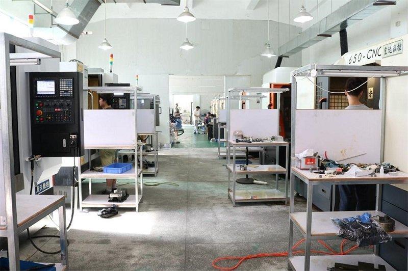 Tuowei testing cnc aluminum prototype protoype for plastic-1