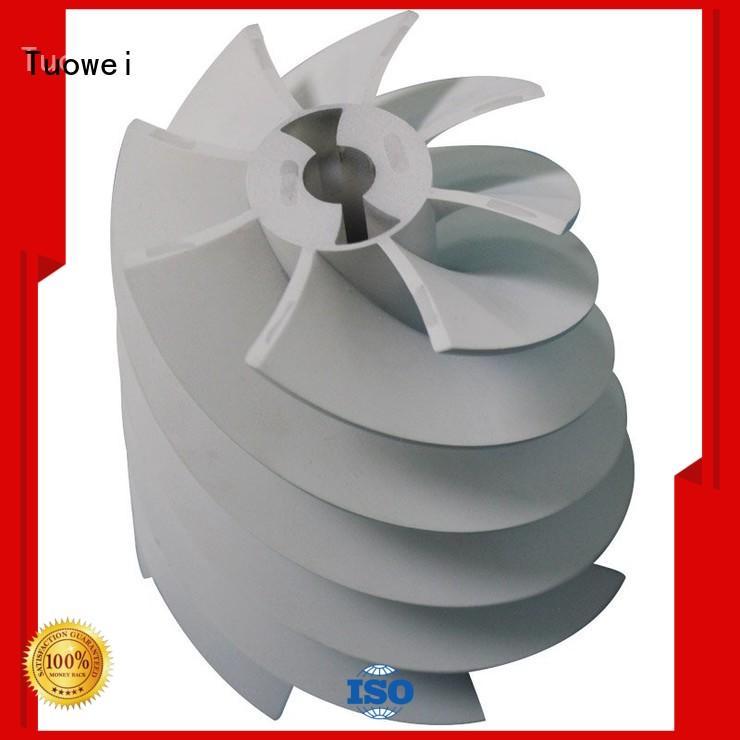turbine 3d printing rapid prototyping design for aluminum Tuowei