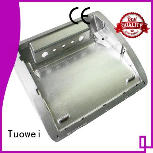 sand casting aluminum prototype cnc for plastic Tuowei