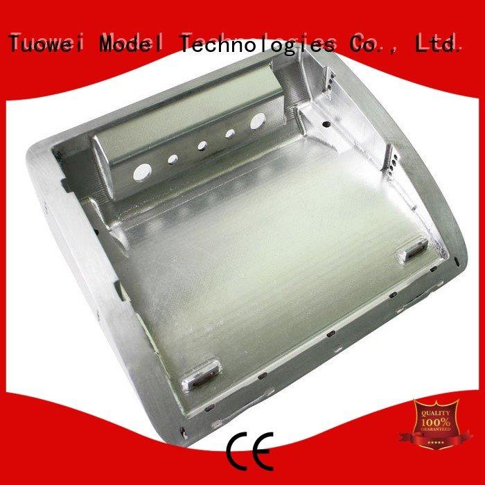 Tuowei rapid aluminum rapid prototype factory for industry