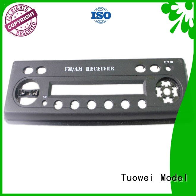 Tuowei sewing abs prototype service customized for aluminum