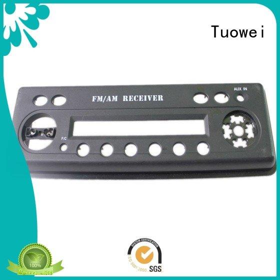 transparent Custom box ABS Prototype metal Tuowei