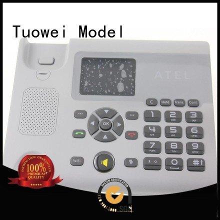 Tuowei handheld abs cnc machining prototype equipment