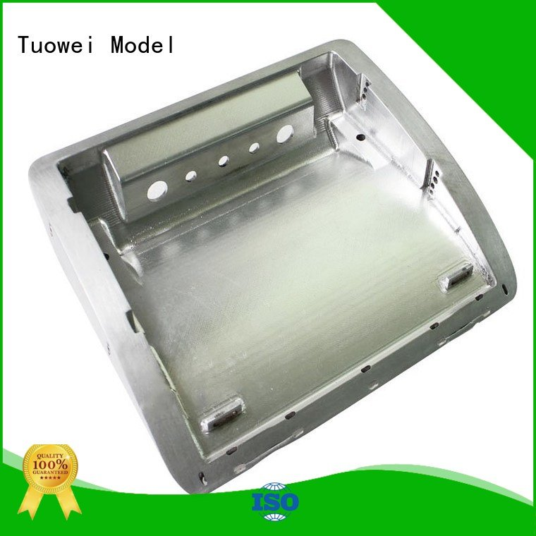 Tuowei testing sand casting aluminum prototype supplier for industry