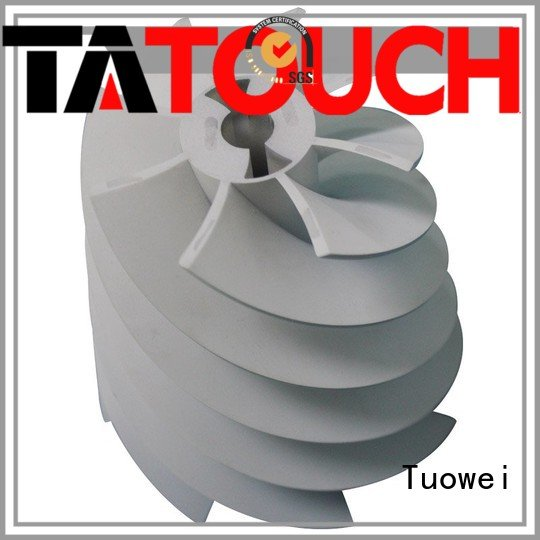 Tuowei rapid turbine prototype supplier for plastic