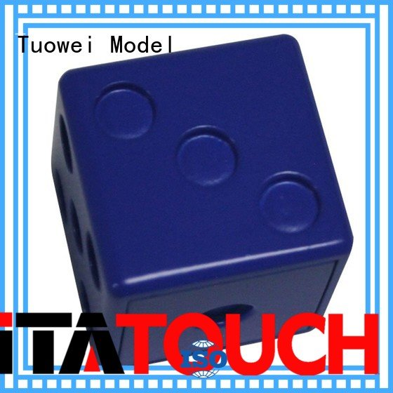 Tuowei dice ABS Prototype manufacturer