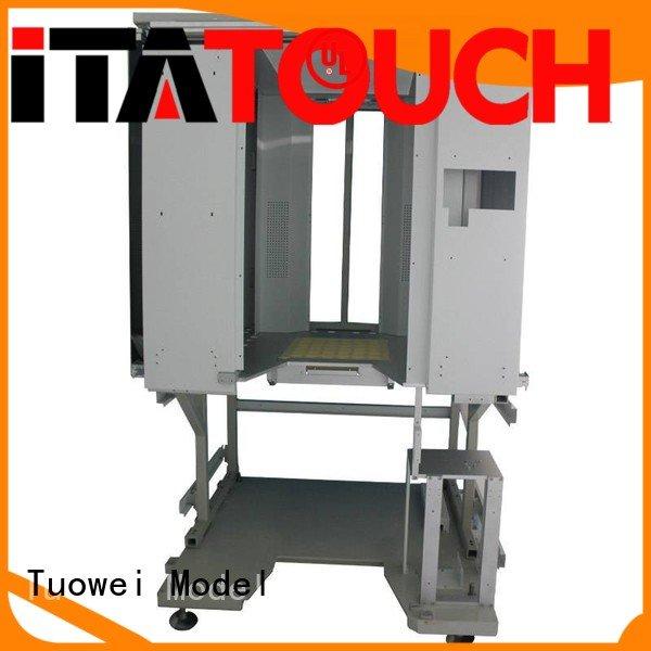 steel cnc prototyping design for aluminum Tuowei