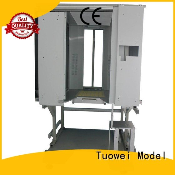 cnc stainless steel prototyping equipment for metal Tuowei