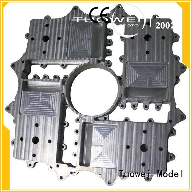 rapid aluminum prototype manufacturer for aluminum Tuowei