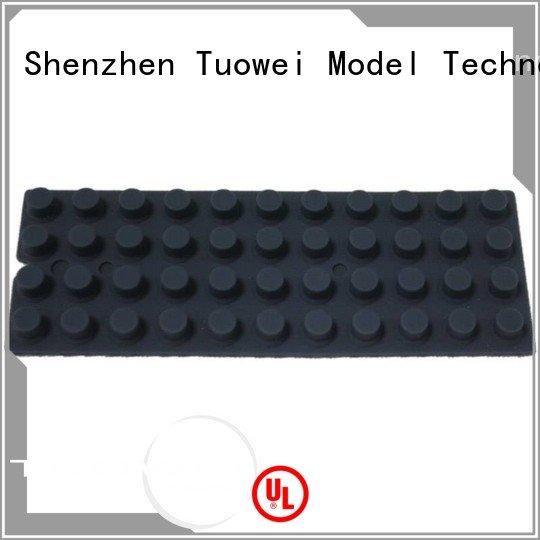Tuowei rubber China vacuum casting factory for aluminum