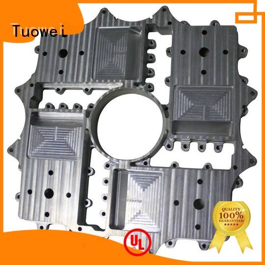 prototype aluminum alloy box prototype cnc for metal Tuowei