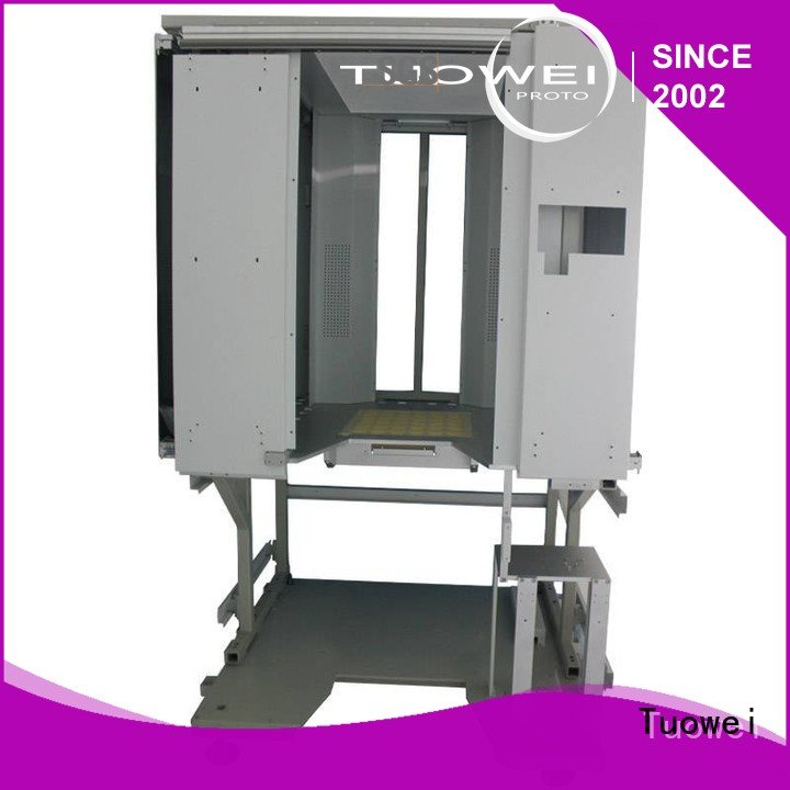 Tuowei steel cnc prototyping customized for industry