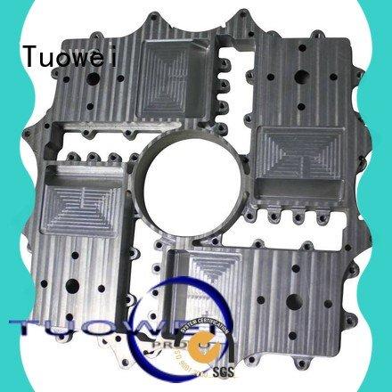 Tuowei rapid cnc prototyping aluminium service factory