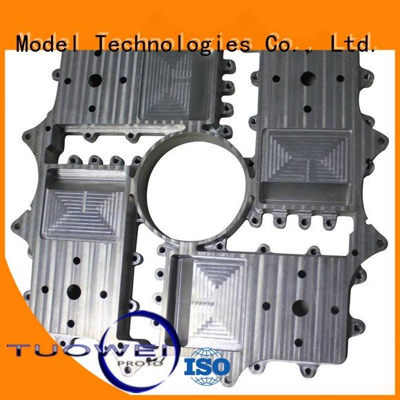 aluminum rapid prototype and manufacturing medical for industry Tuowei