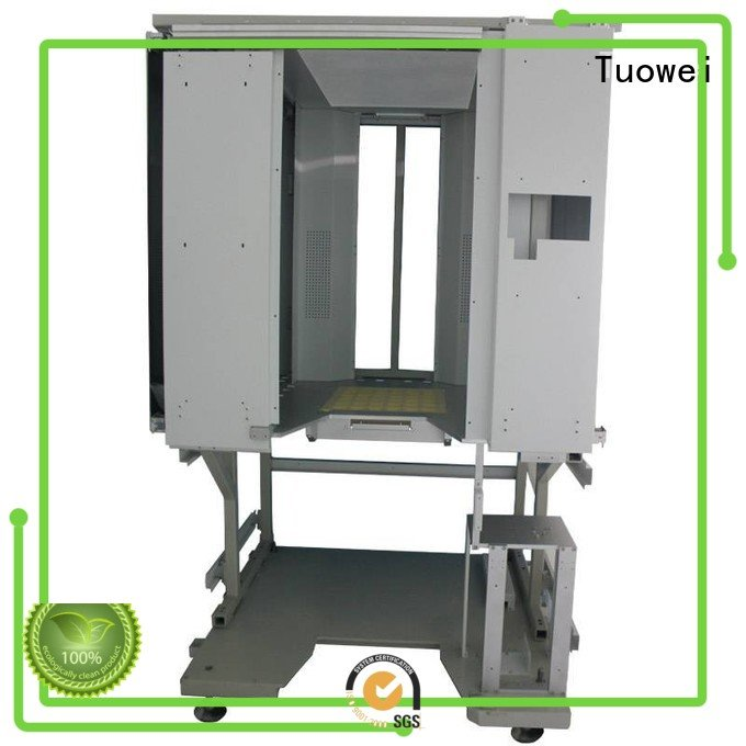 Tuowei stainless rapid prototype cnc machining customized