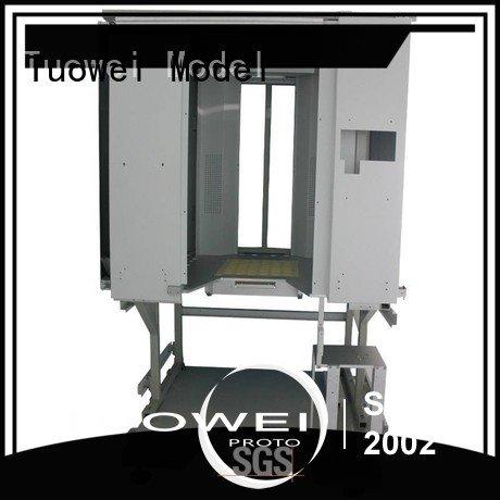 Tuowei steel cnc prototyping mockup
